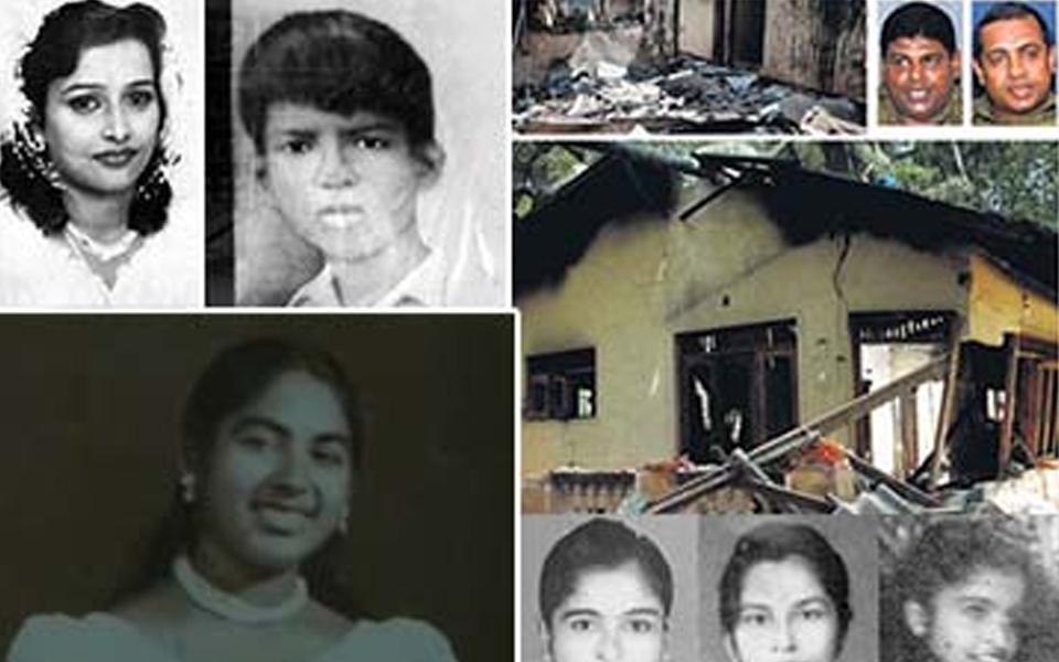 Murders that happened in SriLanka